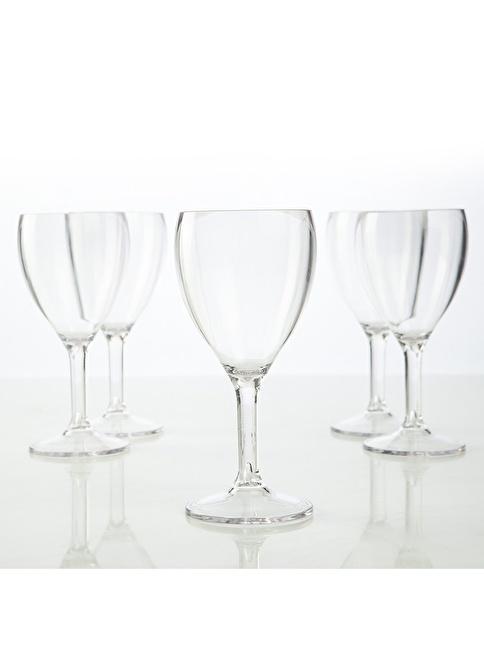 Plabar Kırılmaz Şarap Bardağı 6lı Renkli